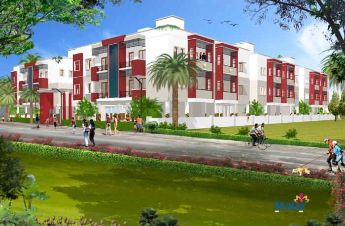 Malar Garden in Manapakkam, Chennai - Amenities, Layout