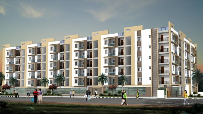 Magnas Lake View in Hi Tech City, Hyderabad - Amenities, Layout