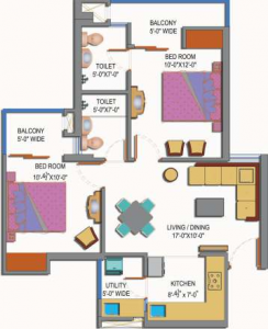 Paramount Emotions In Sector 1 Greaternoida Amenities Layout