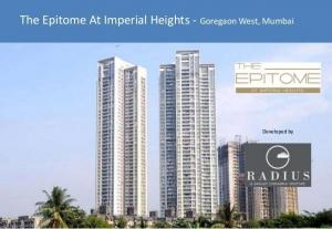 Imperial Heights The Epitome, Goregaon West