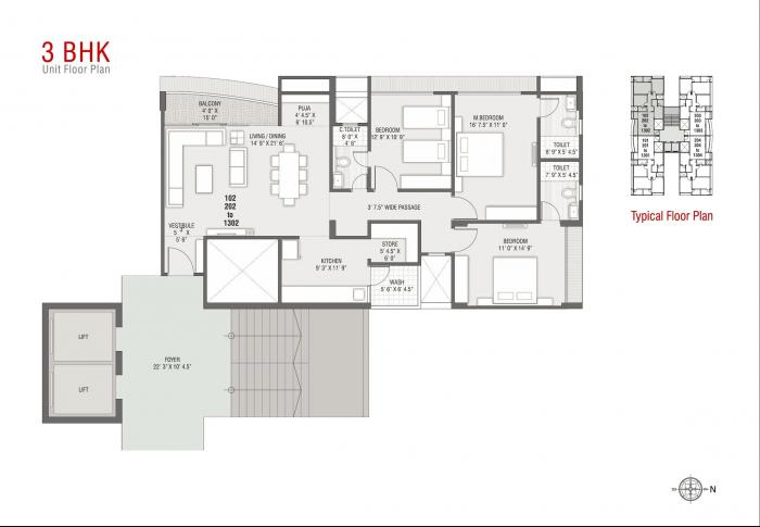Sangani Dev Atelier, Ahmedabad - Floor Plan