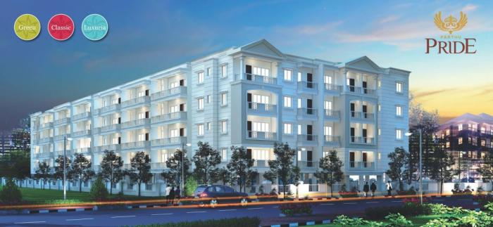 Parthu Pride in Whitefield, Bangalore - Amenities, Layout