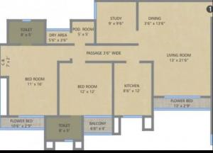 Auralis The Twins In Thane Amenities Layout Price List Floor Plan Reviews Quikrhomes