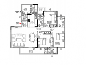 Divyasree 77 Place In Bangalore Amenities Layout Price List Floor Plan Reviews Quikrhomes