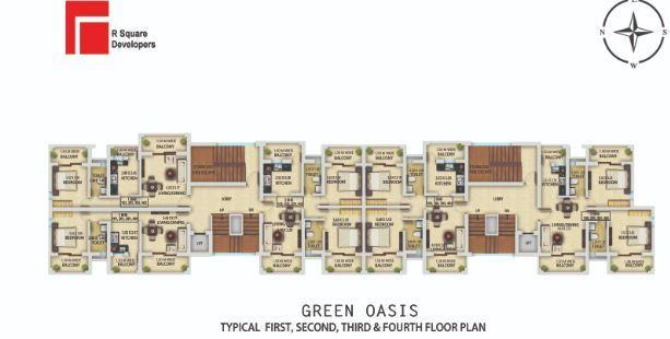 R Square Green Oasis in Mapusa, Goa - Amenities, Layout, Price list