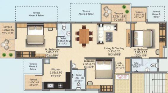 Polite Bhalchandra Vihar Phase I A And B In Pune Amenities Layout Price List Floor Plan Reviews Quikrhomes
