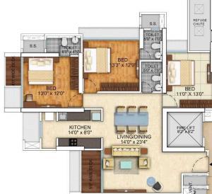 Bau IBIS in Kandivali West, Mumbai - Amenities, Layout, Price list