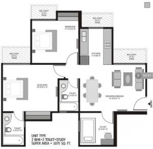 Ajnara Homes 121 In Noida Amenities Layout Price List Floor Plan Reviews Quikrhomes