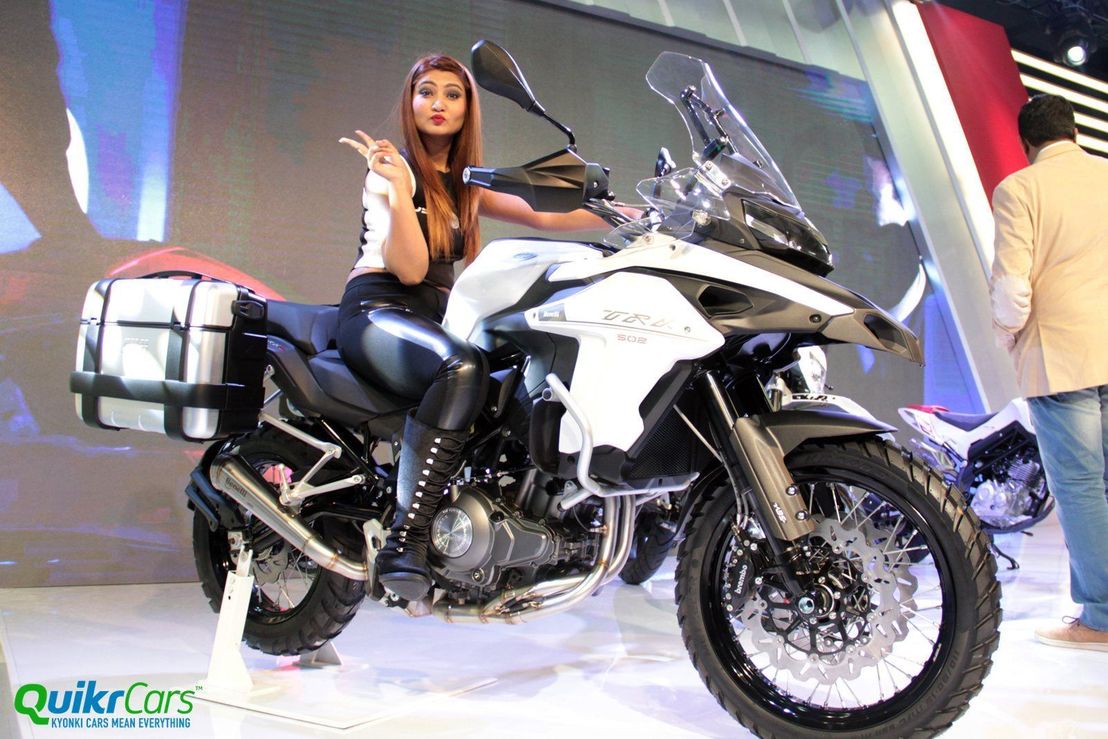 Dsk Benelli Trk 502 Showcased At Auto Expo 2016