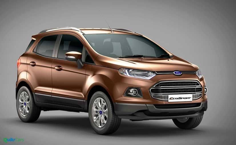Ford Ecosport Check Features Design And Specifications