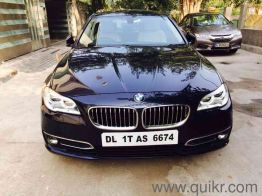 18 Used Bmw 5 Series Cars In Delhi Second Hand Bmw 5 Series Cars