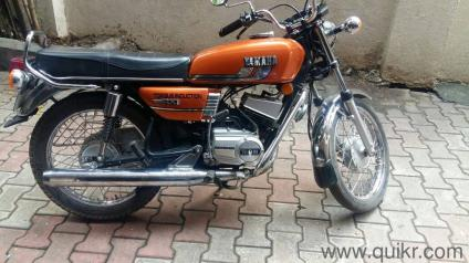 Before 1995 Yamaha RX 100 - 35600 kms driven in Camp Area in