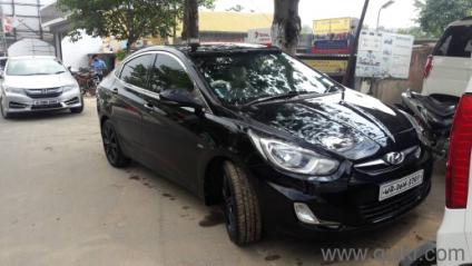 Black 2011 Hyundai Verna Fluidic New