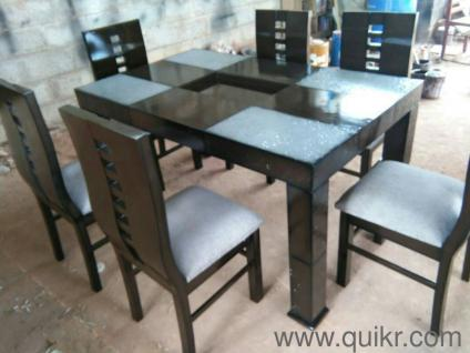 A Brand New 6 Chairs Dining Set Free Delivery All Bangalore 19500 Hebbal Make An Offer