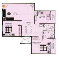 Krishna Dhama, Bangalore - Floor Plan