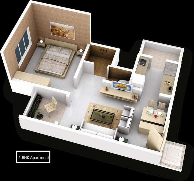 Kul Ecoloch, Pune - Floor Plan