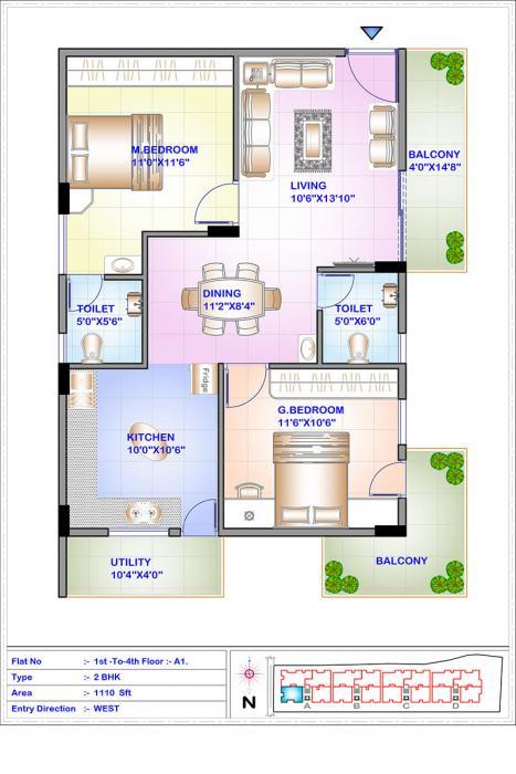 ISR Sukriti, Bangalore - Floor Plan