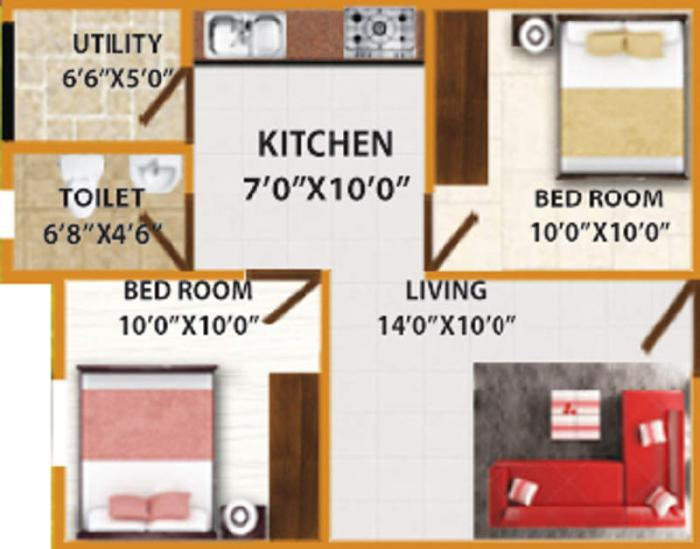 DS-MAX Smart Nest, Bangalore - Floor Plan