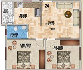 DS Max Splendid, Bangalore - Floor Plan