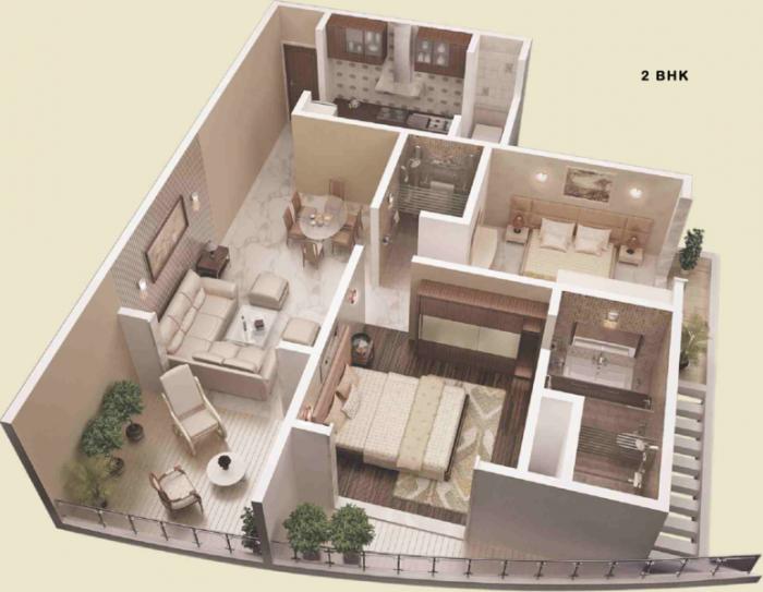 JP Decks, Mumbai - Floor Plan