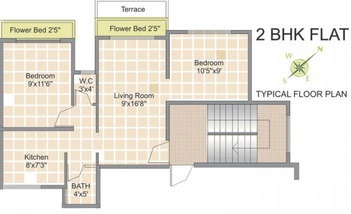 Royale Ozone, NaviMumbai - Floor Plan