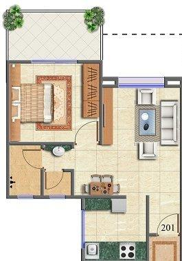 Jaihind Residency, Pune - Floor Plan