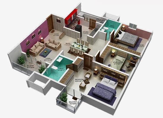 Shriram Luxor, Bangalore - Floor Plan