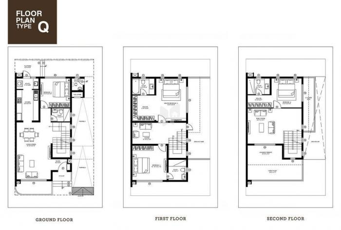 LGCL New Life Villas, Bangalore - Floor Plan