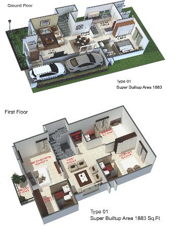 Aratt Amora, Bangalore - Floor Plan