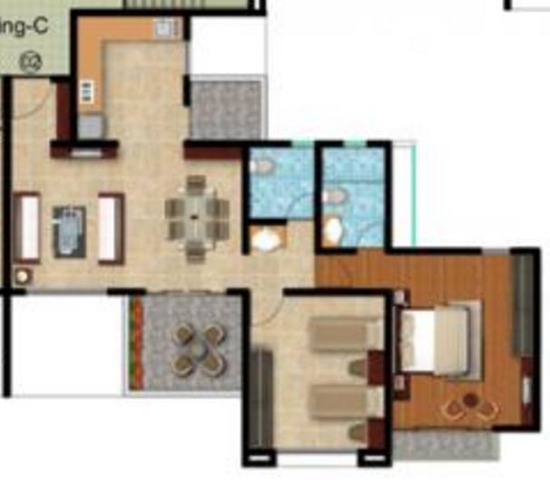 Nandan Spectra, Pune - Floor Plan