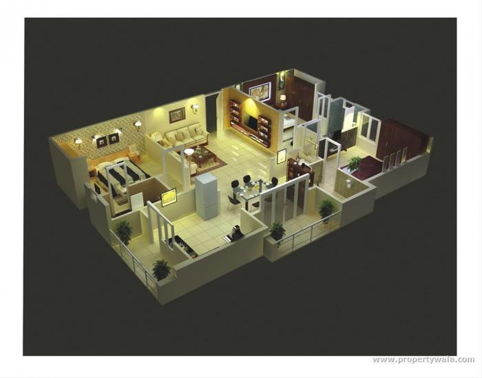 Saroj White Sands, Bangalore - Floor Plan