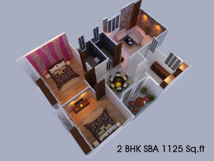 Dynamic Krishna Aashraya, Bangalore - Floor Plan