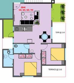 Shri Vardhaman Vatika, Pune - Floor Plan