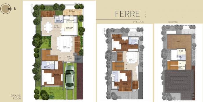 Breathe Villa, Bangalore - Floor Plan