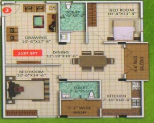 GMR Grand, Bangalore - Floor Plan