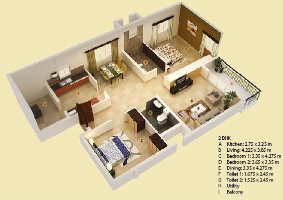 Mahendra Elena, Bangalore - Floor Plan