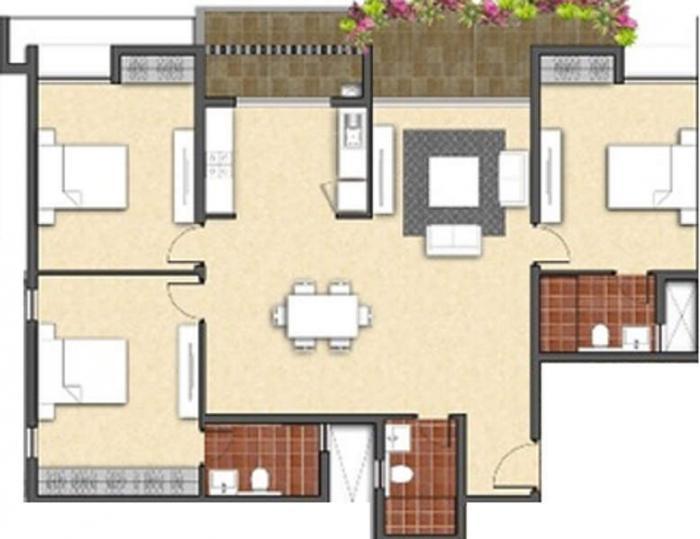 Axis Ciano, Bangalore - Floor Plan