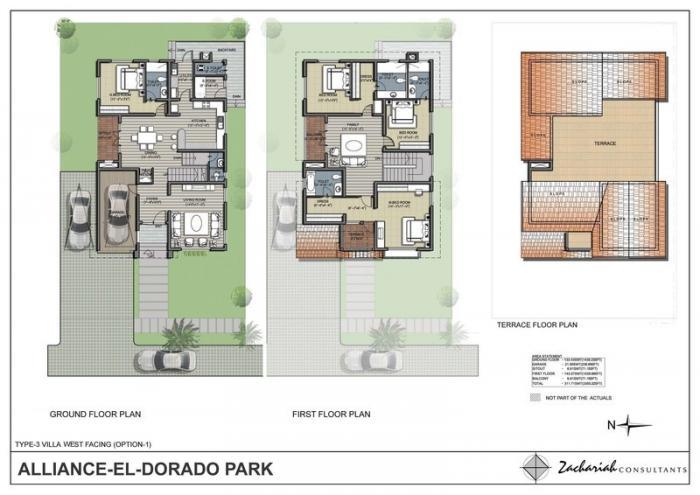 Alliance El Dorado Park, Bangalore - Floor Plan