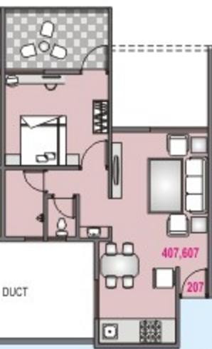 DS Srushti, Pune - Floor Plan