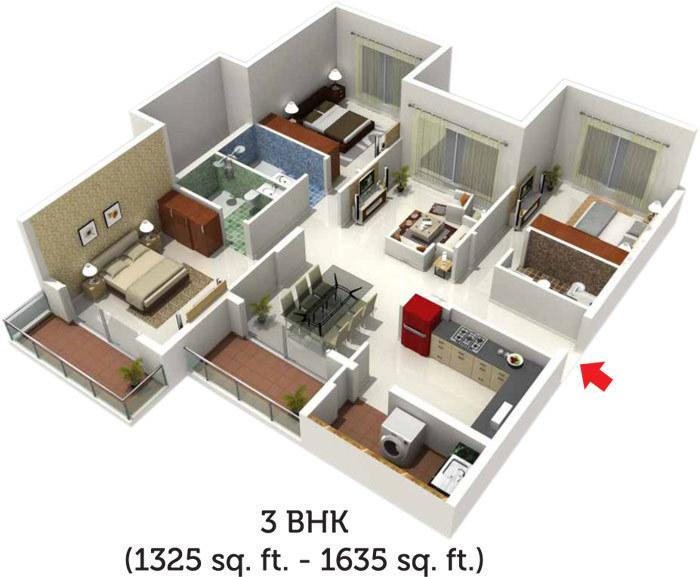 S And G Luxuria, Bangalore - Floor Plan