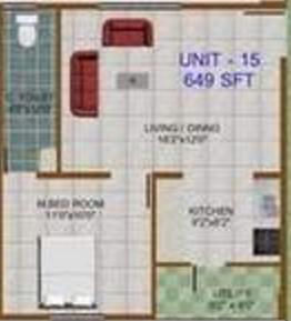 Prabhavathi Towers, Bangalore - Floor Plan