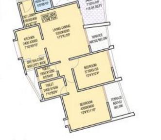 Nandan Euphora, Pune - Floor Plan