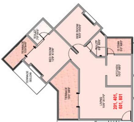 Chintan Floria, Pune - Floor Plan