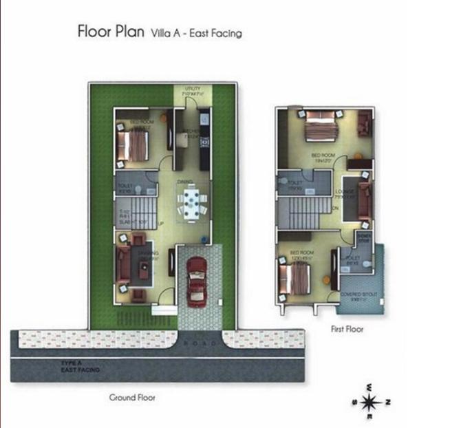 Golden Homes Phase III, Bangalore - Floor Plan