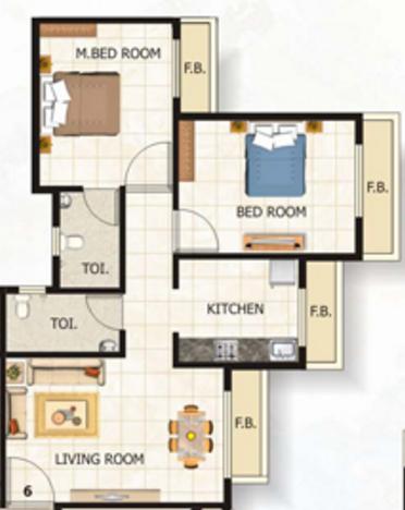 Tulsi Darshan, Mumbai - Floor Plan