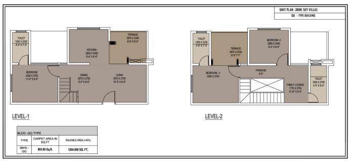 Xrbia Express City, NaviMumbai - Floor Plan