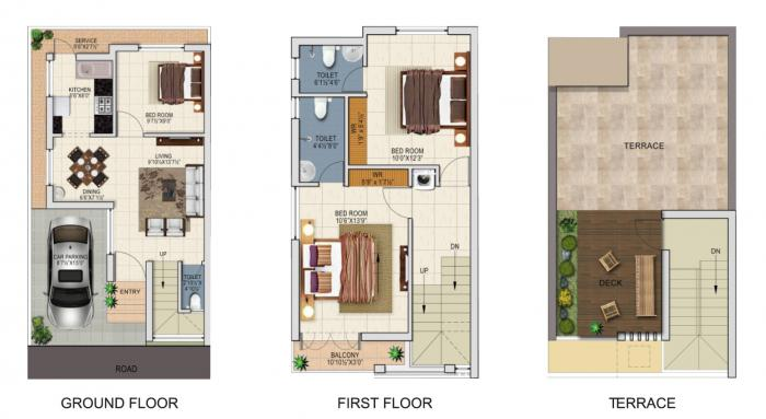 Altitude Signature Villa, Chennai - Floor Plan