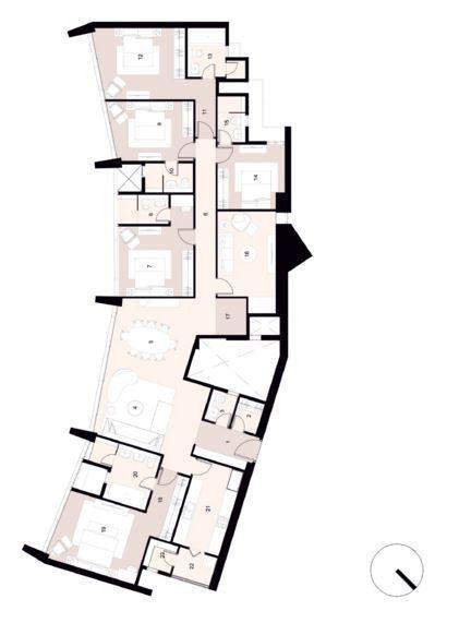 Lodha The Park, Mumbai - Floor Plan