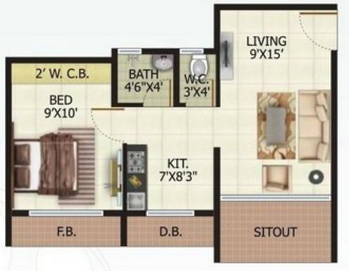 Parasnath Nagari, Mumbai - Floor Plan