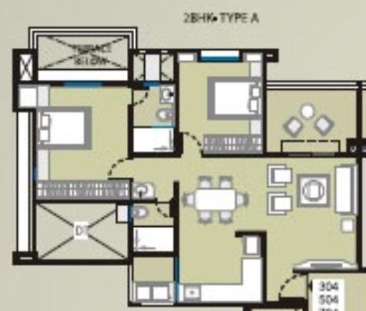 Saarrthi Souvenir, Pune - Floor Plan